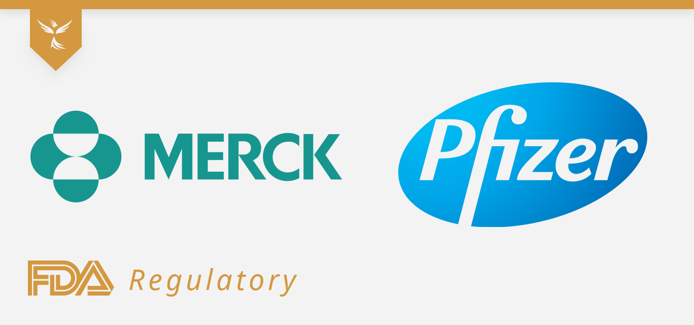 merck and pfizer cover image