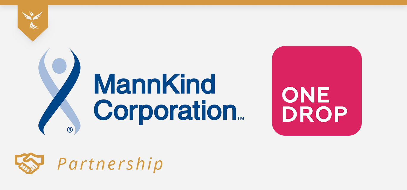 mannkind and onedrop partnership