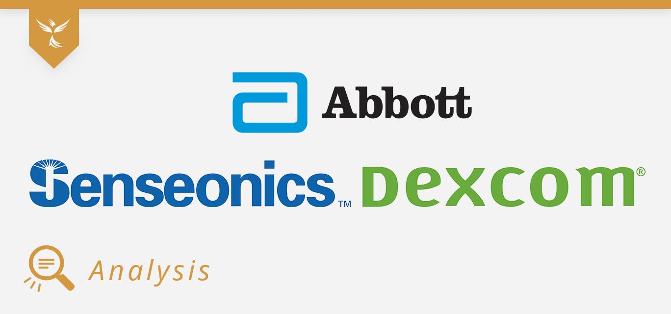 abbot, senseonics, and dexcom cover image